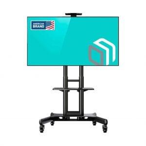 ONKRON Height Adjustable Portable TV Stand