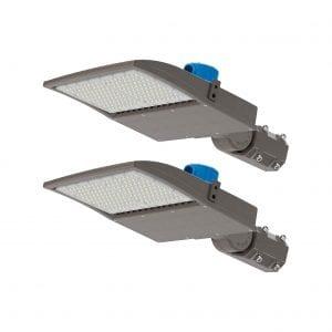 Sunco 2 Pack LED Shoebox Parking Lot Light 150W