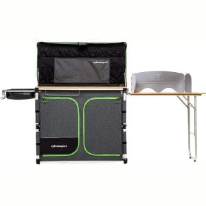 SylvanSport Over Easy Camp Kitchen System for Easy Cooking, Clean Up, and Camping Meal Prep