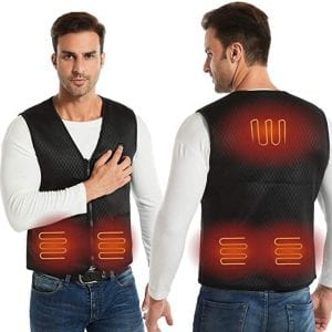 AIMINTSEN Electric Heated Vest for Men and Women