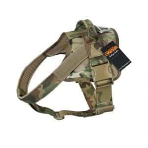 EXCELLENT ELITE SPANKER Patrol K9 Tactical Dog Harness