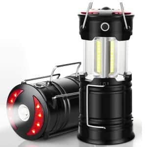EZORKAS 2 Pack Rechargeable Led Camping Lanterns