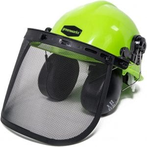 Greenworks GWSH0 Chainsaw Safety Helmet