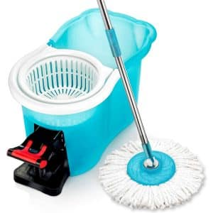 Hurricane Spin Mop with Bucket