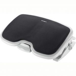 Kensington Comfort Memory Foam Adjustable Footrest (K56144USF),White:Black,Smartfit