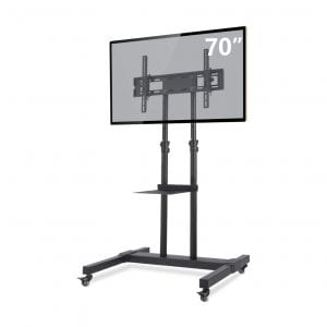 TAVR Flat Screen or Curved Portable TV Stand