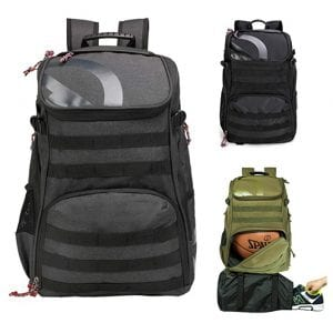 TRAILKICKER-35L-Outdoor-Sports-Backpack-with-17-inches-Laptop-Compartment-Football-Volleyball-Gym-Bag