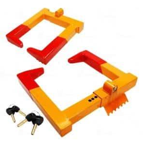 Zone-Tech-2-Pack-Wheel-Chock-Lock