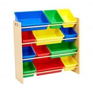 Amazonbasics Kids Toy Organizer Storage Bins