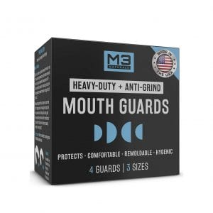 M3 Naturals Moldable Mouth Guards for Bruxism