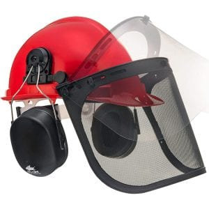 NoCry 6-in-1 Forestry Helmet with a Hearing Protection System