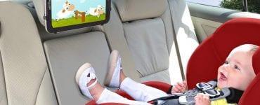 #6. TFY Car Mount Universal Car Headrest Mount