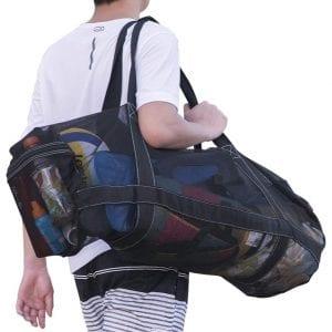 Bulex-XXL-Mesh-Diving-or-Snorkel-Gear-Bags-with-a-Zipper-Pockets
