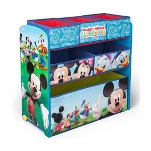 Delta Children Toy Storage Organizer, 6-Bin