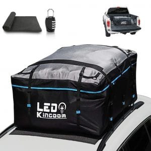 LEDKINGDOMUS-Waterproof-19cft-Car-Roof-Top-Bag
