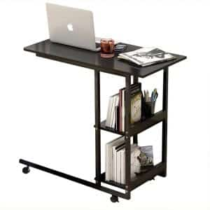 Overbed Table,Laptop Desk Medical Overbed Table Portable Computer Desk Bed Couch Sofa Side Table Hospital Bed Table Bedside Home Reading Desk Breakfast Table