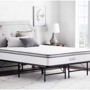 WEEKENDER-14-Inches-Folding-Platform-Bed-Frame