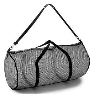 Champion-Sports-Multipurpose-Mesh-Duffle-Bag-w-Zipper-Adjustable-Shoulder-Strap