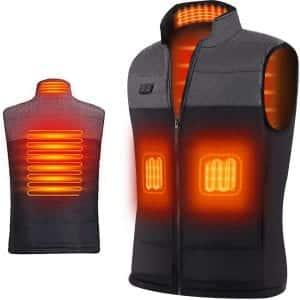 EJOY Washable Heated Vest w/ Dual Power Switch