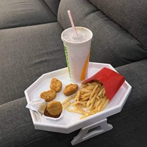 CLEVER-BEAR-Clip-On-Table-for-Sofa-Armrest-Perfect-for-Snacks-Remote-Control-and-Drinks