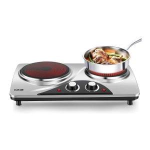 CUKOR 1800W Portable Electric Cooktop