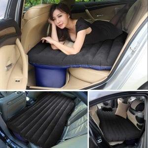 CampBuddy Heavy-Duty Car Inflatable Air Mattress with 2 Pillows