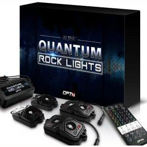 Ustellar RGB LED Rock Lights 8 Pods APP Remote Timing Music Mode Multicolor Neon LED Light Kit Waterproof AUTO Wheel Exterior Underglow Lighting