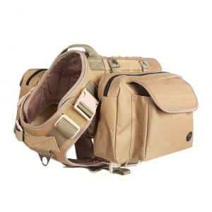 VICARKO MOLLE System Tactical Dog Harness