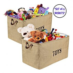 . Woffit Extra Large Collapsible Toy Storage Organizer