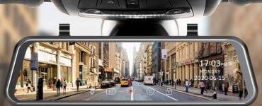 image feature Mirror dash cam