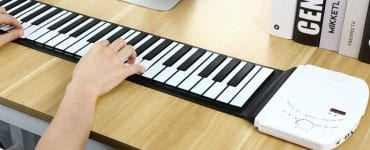 image feature Roll up piano keyboards