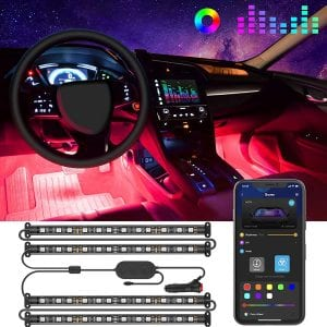 Govee APP Control Interior Car Lights,