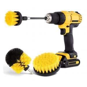 Hiware All Purpose Drill Brush Attachment Set