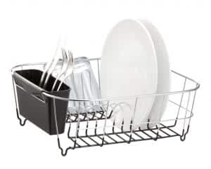 Neat-O Chrome-plated Steel Dish Drainers, Black