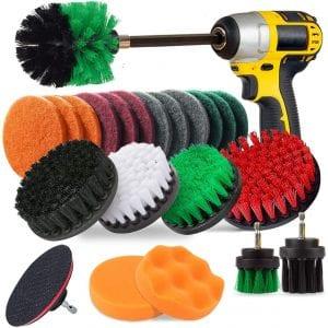Jusoney 27 Piece Drill Brush Attachment Set