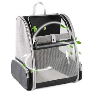 Texsens Collapsible Cats' Backpack Carrier