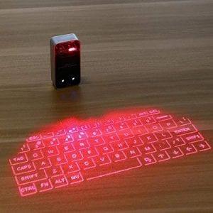 Bluetooth Virtual Laser Keyboard Projector (Black)