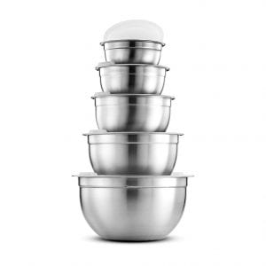 FineDine Stainless-steel Mixing Bowls