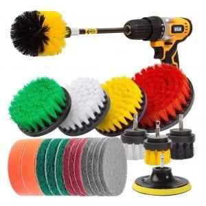 Holikme 22 Piece Drill Brush Attachments Set