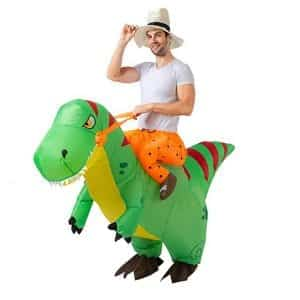 Spooktacular Dinosaur Inflatable Costume