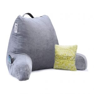 Vekkia Reading and Bed Rest Pillow with Arm Support