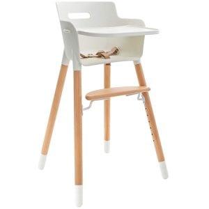WeeSprout Modern Wooden High Chair