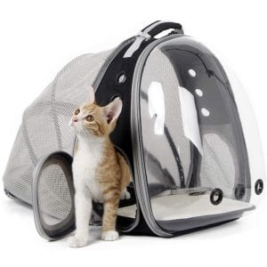 halinfer Expandable Cat Carrier Backpack