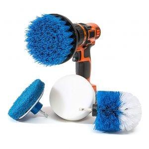 Revoclean 4 Piece Brush Drill Attachments