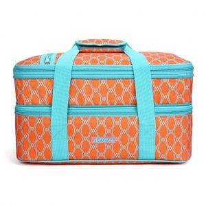 Mier Thermal Insulated Double Casserole Carrier