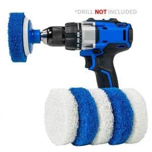 Rotoscrub Multi-Purpose 7 Pack Drill Brush Kit