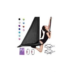 SAIVEN Aerial Silks Yoga Hammock Swing
