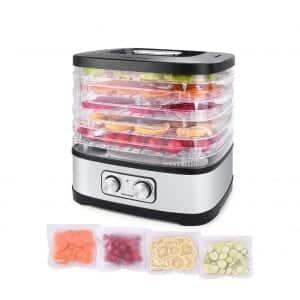 Seeutek Food Dehydrator Machine with 5 BPA-Free Trays