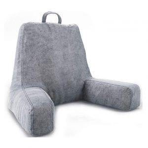 ZIRAKI Large Plush Shredded Foam Arm Rest Pillow