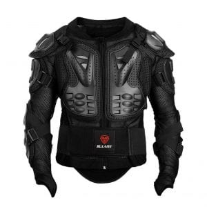 GuTe Motorcycle Protective Jacket Full Body MTB Racing Jacket for Men (2XL)